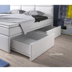 Łóżko kontynentalne MILANO 3 z szufladami i 3 materacami