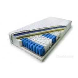 Łóżko kontynentalne INTER z pojemnikami i 3 materacami
