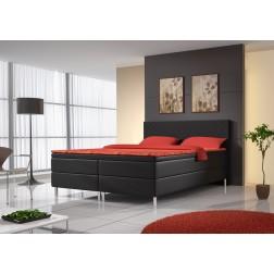 Łóżko kontynentalne MIDO z 3 materacami