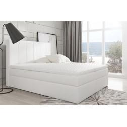 Łóżko kontynentalne RIVON z  pojemnikami i 3 materacami