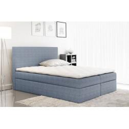 Łóżko kontynentalne ROBI z  pojemnikami i 3 materacami