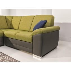 Sofa narożna BARDO z funkcją spania i pojemnikiem