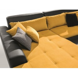 Sofa narożna CADERA z funkcją spania
