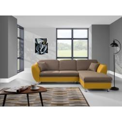 Sofa narożna LUCA z funkcją spania i pojemnikiem