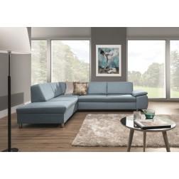Sofa narożna NEGARE z funkcją spania i pojemnikiem