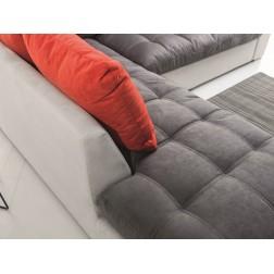 Sofa narożna PORTA z pojemnikiem i funkcją spania