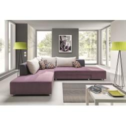 Sofa narożna STELLA z funkcją spania