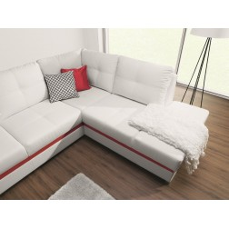 Sofa narożna VASCO z funkcją spania i pojemnikiem